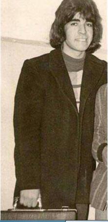 حمید لولایی در جوانی قبل از انقلاب