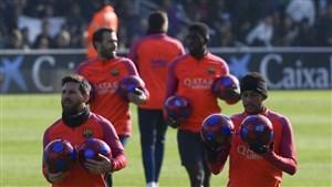 نتیجه بازی بارسلونا و لاس پالماس 25 دی 95 دانلود خلاصه بازی و گلها