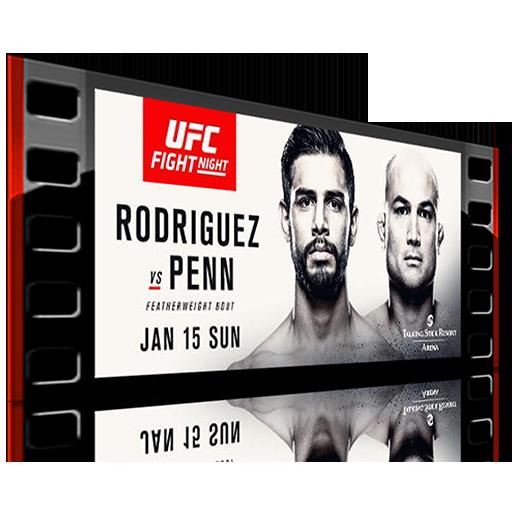 دانلود یو اف سی فایت نایت 103 | UFC Fight Night 103: Rodriguez vs Penn
