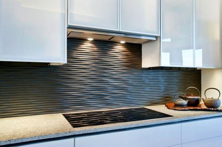 40 طرح برای بین کابینت آشپزخانه
