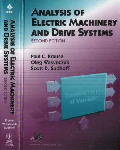 دانلود حل المسائل کتاب ماشین های الکتریکی کراوس