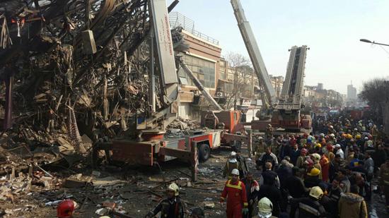 اخبار جدید حادثه پلاسکو | اسامی و تصاویر جان باختگان | فیلم و آمار