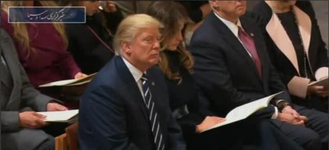 دانلود فیلم خواندن قرآن در حضور ترامپ