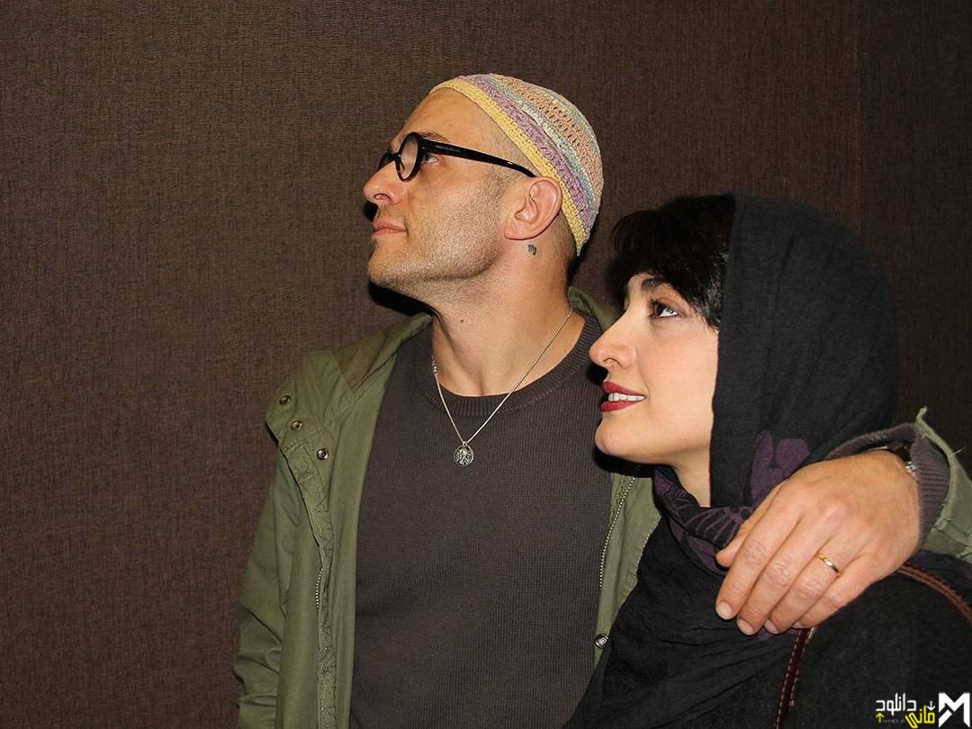 عکس بابک حمیدیان و همسرش مینا ساداتی
