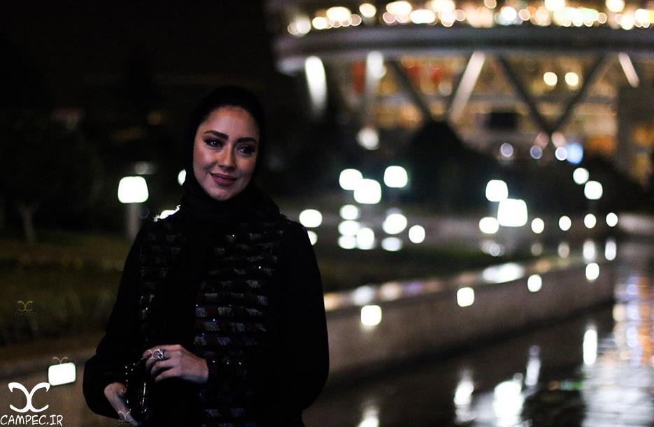 بهاره کیان افشار در افتتاحیه جشنواره 35 فیلم فجر