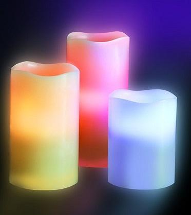 شمع های LED لوما کندل 12 رنگ Luma Candles