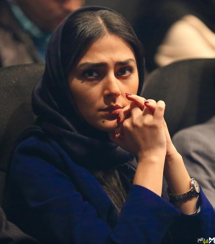 """عکس هدی زین العابدین در اکران فیلم """"خانه ایی در خیابان چهل و یکم"""""""