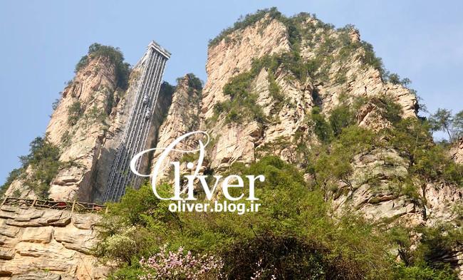 بلندترین آسانسور جهان در چین