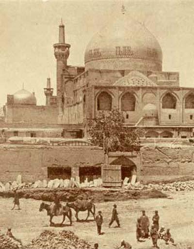 عکس قدیمی از حرم امام رضا