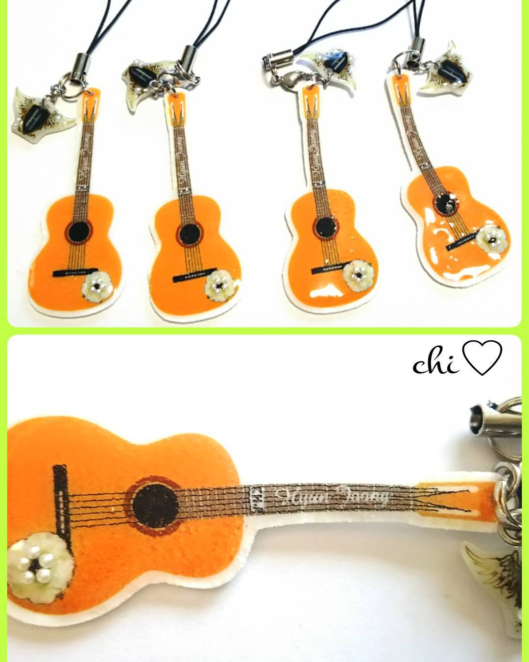 Fanmade - Guitar type strap I wanted to make it once HJ guitar