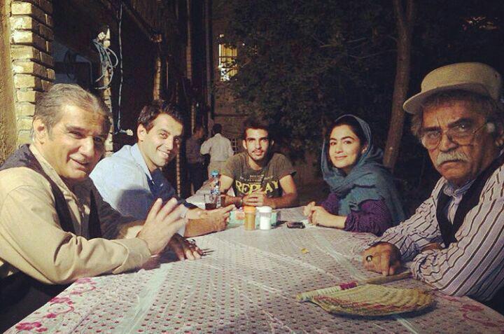 عکسهای جدید از پشت صحنه سریال علی البدل