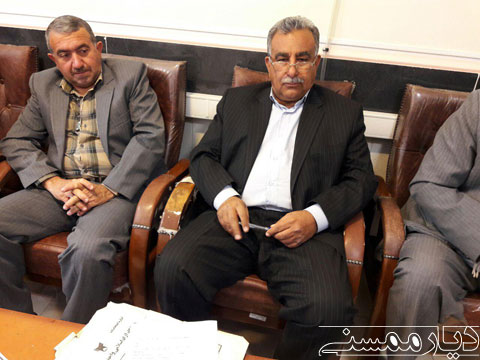 حضور چهره ها در سومین روز ثبت نام شورای شهر نورآباد