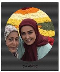 عکس جدید مریم معصومی و شهربانو موسوی پشت صحنه سریال مرز خوشبختی