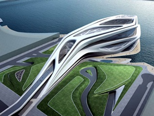 دانلود پروژه پاورپوینت معماری فولدینگ