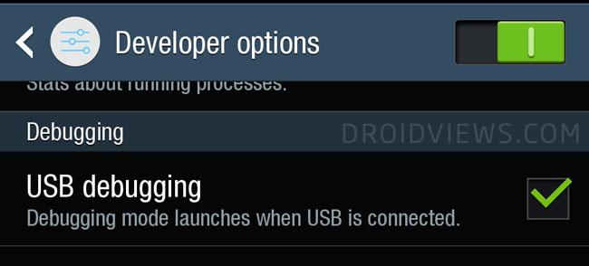 فعال کردن USB Debugging بر روی گوشی و تبلت سامسونگ