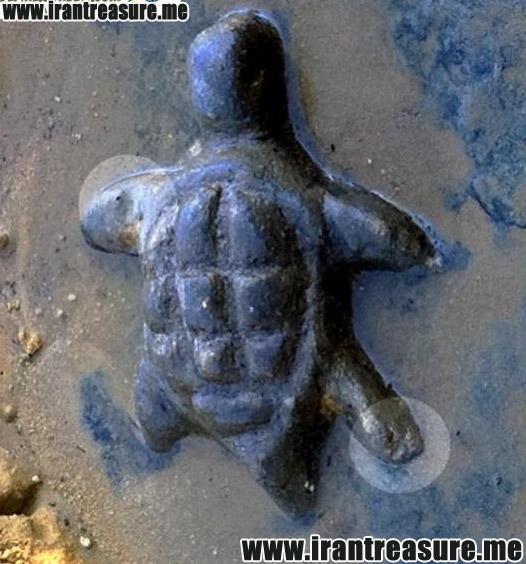 kap953 نشانه لاکپشت در دفینه یابی و گنج یابی