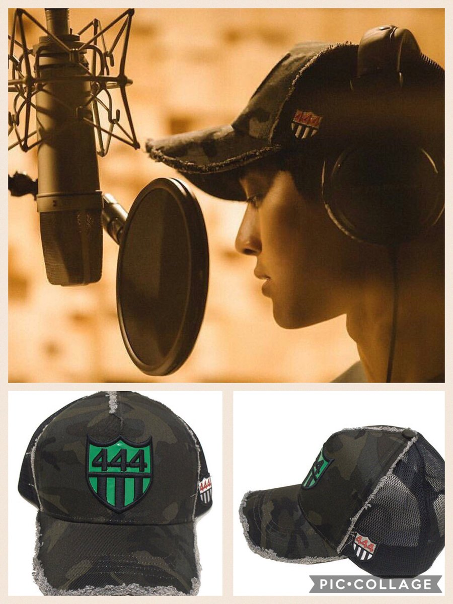 HJ Sponsor cap in recording studio