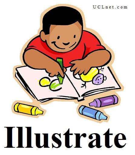 Illustrate – آموزش لغات کتاب ۵٠۴ – English Vocabulary – کدینگ لغات ۵٠۴