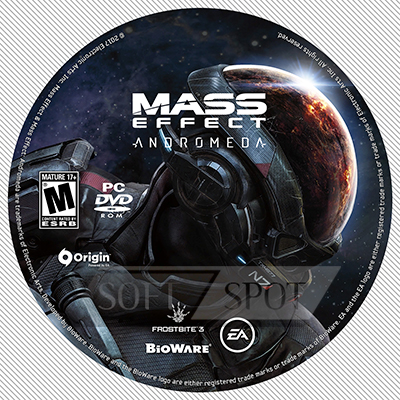 لیبل دیسک Mass Effect: Andromeda