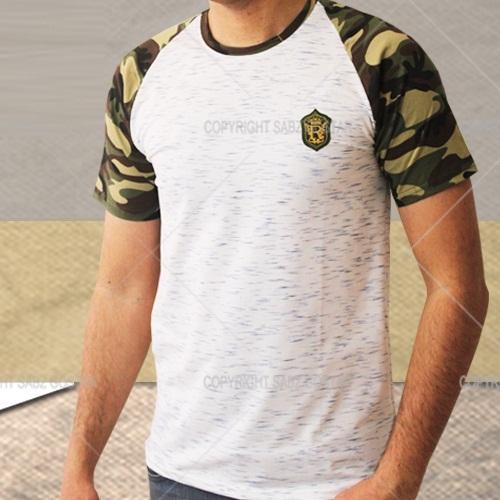 تیشرت ارتشی مردانه استریپ stripe