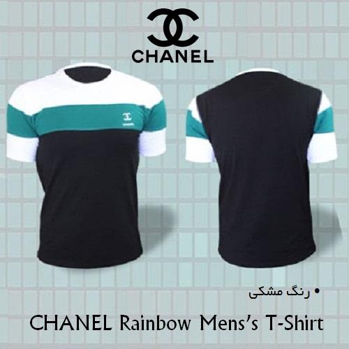 تیشرت مردانه شنل رینبو Chanel Rainbow