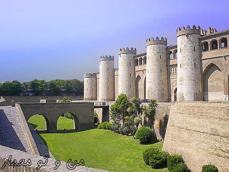 معماری کاخ الجعفریه