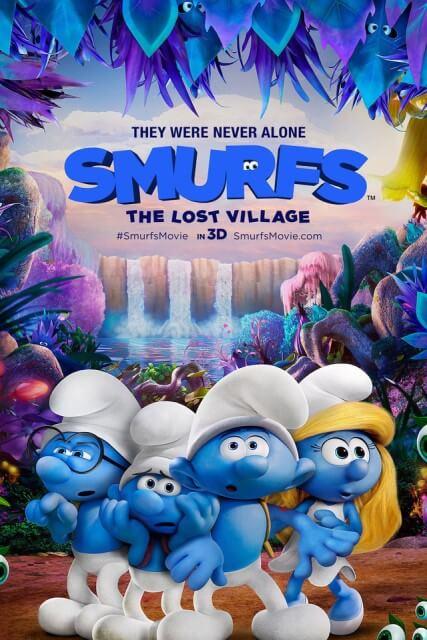 دانلود انیمیشن Smurfs The Lost Village 2017 با لینک مستقیم