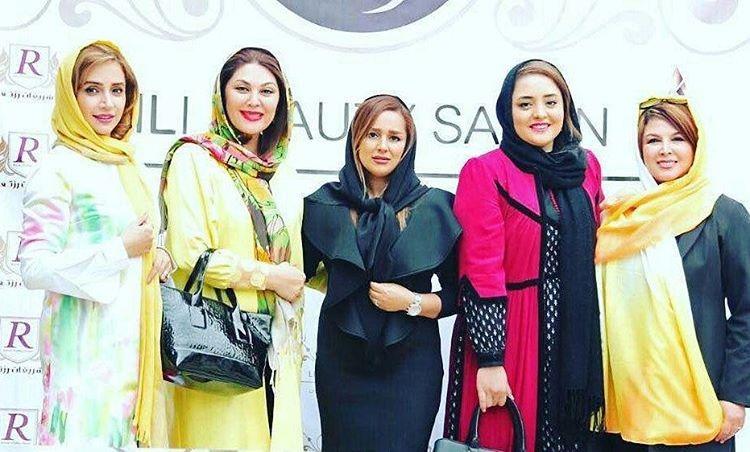 شهره سلطانی،نرگس محمدی،لاله اسکندری و شبنم قلی خانی