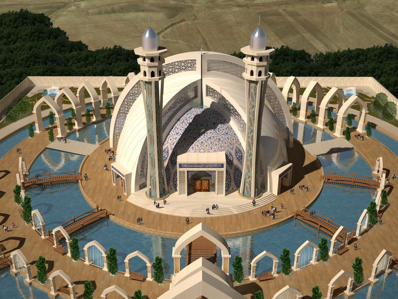 مسجد آبی خاوران