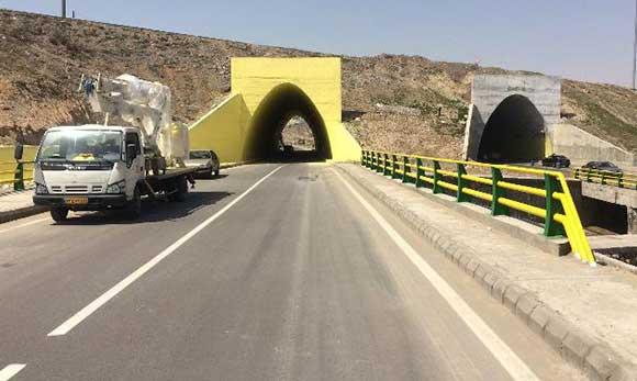 تونلهای جاده باسمنج