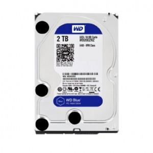 هارد دیسک اینترنال وسترن دیجیتال سری آبی ظرفیت 2 ترابایت + 64 مگابایت کش