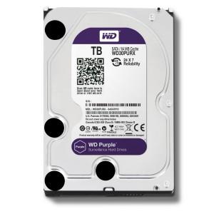 هارد دیسک اینترنال وسترن دیجیتال سری بنفش ظرفیت 2 ترابایت + 64 مگابایت کش