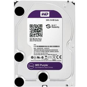 هارد دیسک اینترنال وسترن دیجیتال سری بنفش ظرفیت 8 ترابایت + 64 مگابایت کش