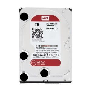 هارد دیسک اینترنال وسترن دیجیتال سری قرمز ظرفیت 1 ترابایت + 64 مگابایت کش