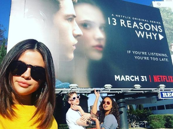 سریالی به تهیه کنندگی سلنا - Thirteen Reasons Why 1