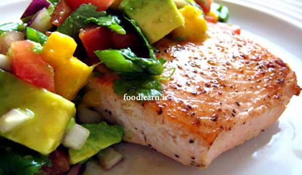 طرز تهیه ماهی سالمون در فودلرن