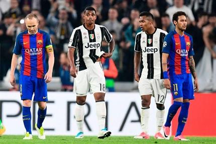 نتیجه بازی دیشب بارسلونا و یوونتوس 30 فروردین 96 + خلاصه بازی