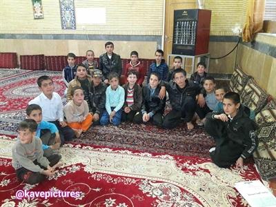 تشکیل حلقه های صالحین  (حلقه شهید ایرج محمدی)  پایگاه  مقاومت بسیج  شهدای مشهدکاوه