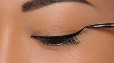 آموزش کشیدن خط چشم برای مدل های مختلف چشم