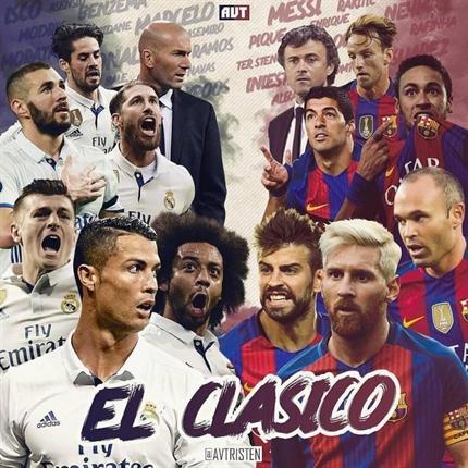 نتیجه بازی رئال مادرید و بارسلونا 3 اردیبهشت 96 + خلاصه بازی