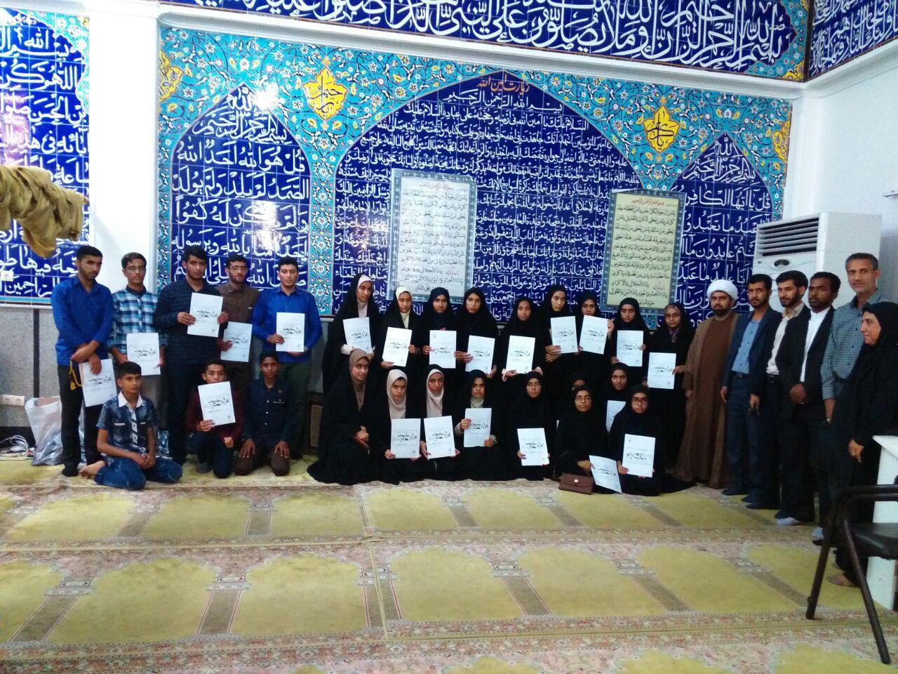 درخشش دانشآموزان بندرلنگهای در مسابقات قرآن و عترت هرمزگان+تصویر