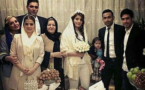 عکس مراسم ازدواج امید ابراهیمی