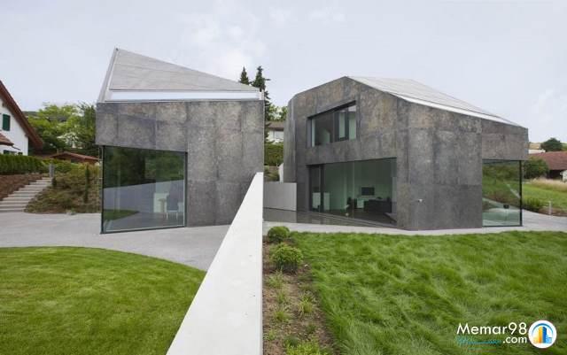 تحلیل و بررسی پروژه دو خانه مجردی جدا از هم-سوئیس