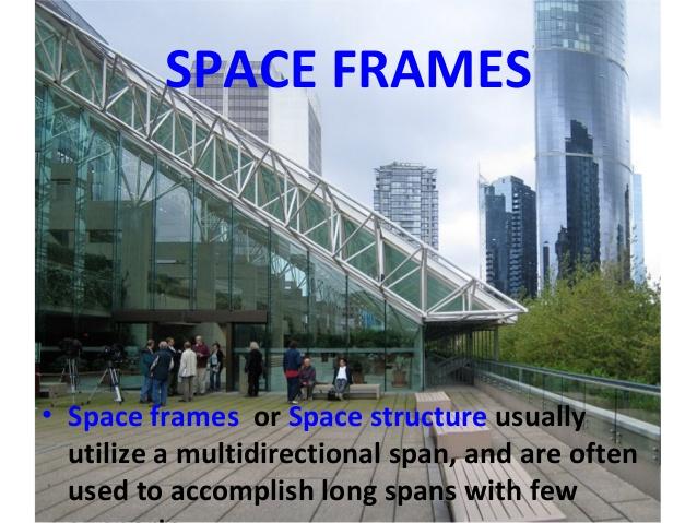 سازه  space frame (پاورپوینت)