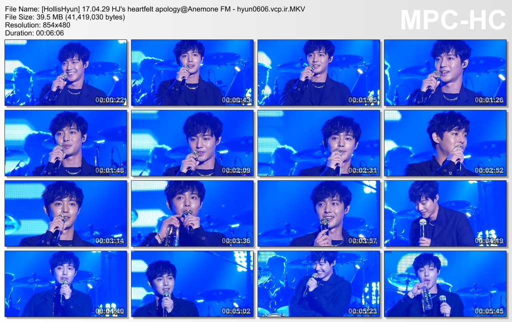 [Fancams] Kim Hyun Joong Anemone FM in Seoul [2017.04.29]