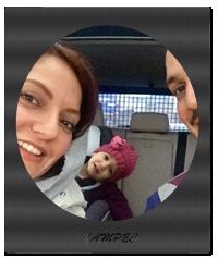 عکس مهناز افشار با همسر و دخترش