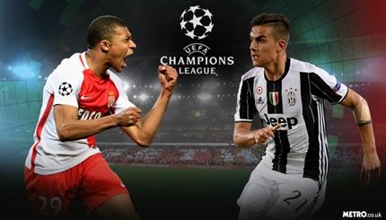نتیجه بازی موناکو و یوونتوس 13 اردیبهشت 96 + خلاصه بازی