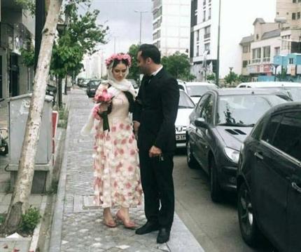 هانیه غلامی بازیگر سینما و تلویزیون ازدواج کرد + عکس