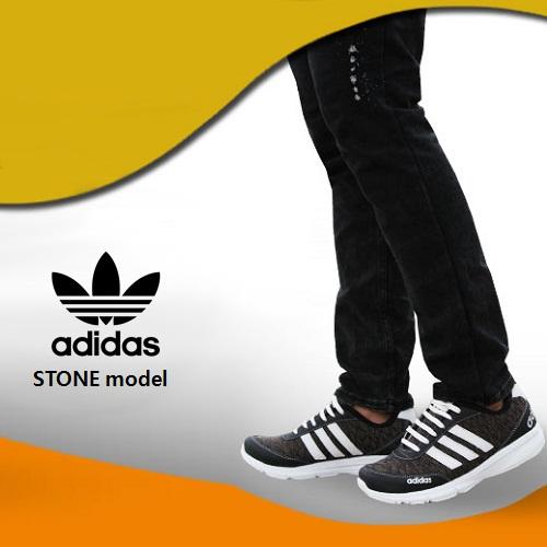 کتانی طرح دار مردانه آدیداس adidas
