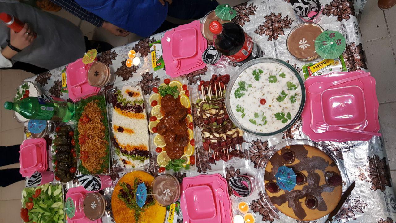 گزارش تصویری از جشنواره غذا کلاس 7/4